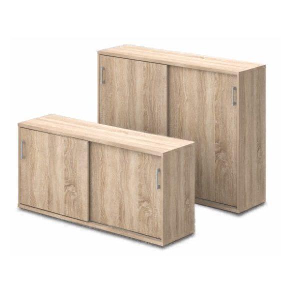 3 fakkos tolóajtós szekrény