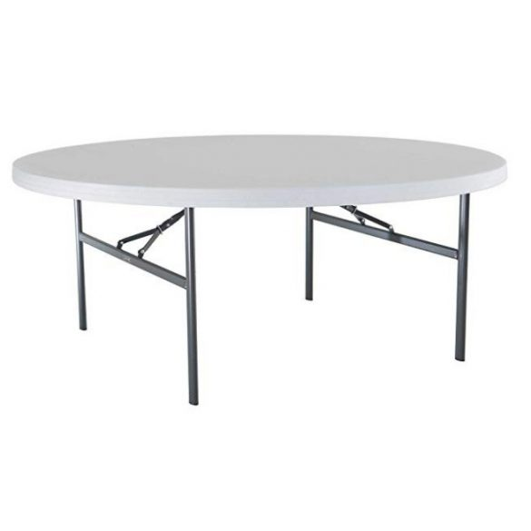 M - Catering összecsukható és rakásolható rendezvény asztal ø183 cm (70183)