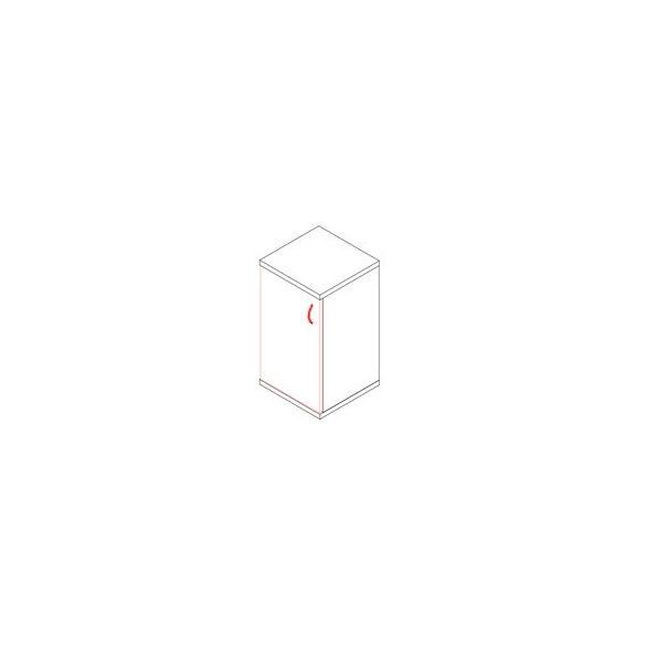 77-1A-B ajtós-polcos feles irodaszekrény balos kivitelben - 2 fakk