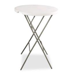 M - Catering összecsukható asztal és rakásolható rendezvény (koktél) asztal ø84 cm (80362)