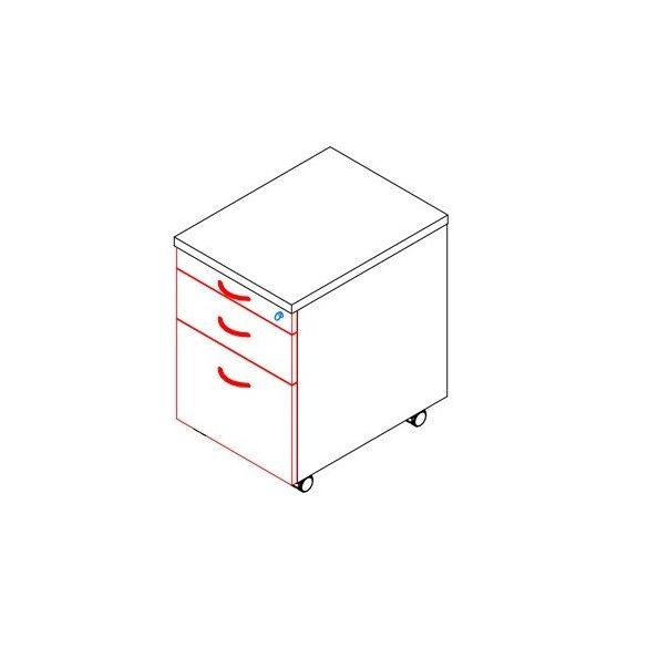 86-1C/1F/1R-FÉ konténer