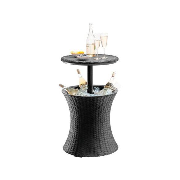 C - Cool bar műrattan kültéri/kerti asztal