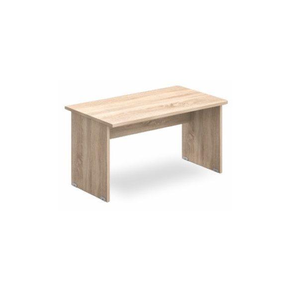EK 120/62 íróasztal az egyik oldalt lekerekített éllel