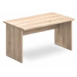 EK 180/80 íróasztal az egyik oldalt lekerekített éllel