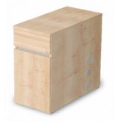 EX-1FA-SZG-B-AM 1 ajtós, 1 fiókos asztalmagas komód balos kivitelben