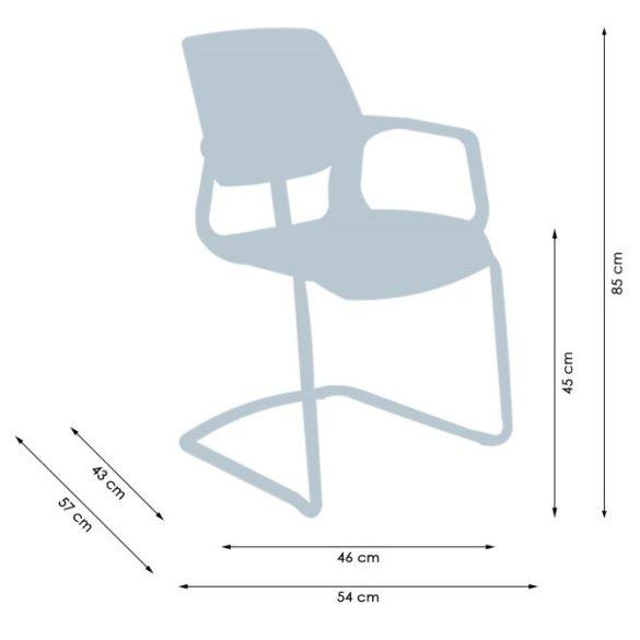L - Aria visitor tárgyaló szék és irodai szék