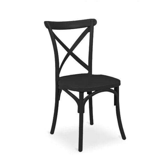 M - Fiorini műanyag szék - fehér színben