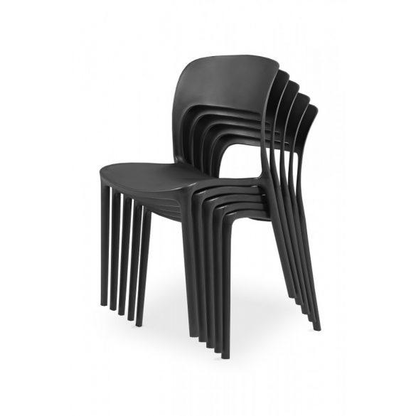 M - Havanna kültéri szék - fehér színben