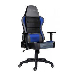 A - GameBoost gamer szék - kék színben