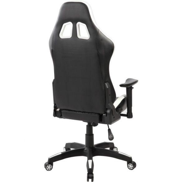 A - Monte Carlo gamer szék - fehér színben