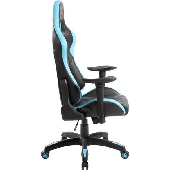 A - Monte Carlo gamer szék - kék színben