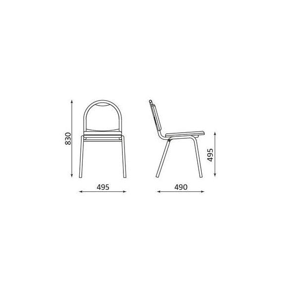 T - Arioso szék