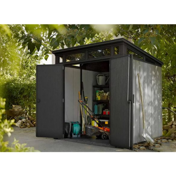 C - Keter Artisan 7x7 műanyag kültéri/kerti szerszámos ház