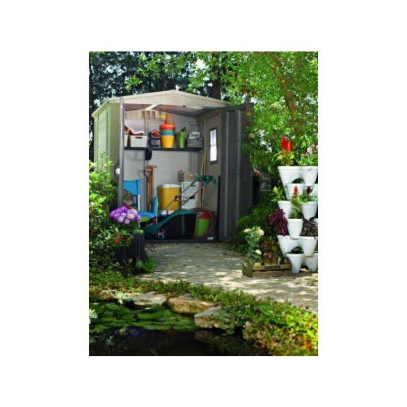 C - Keter Factor 6x6 műanyag kültéri/kerti szerszámos ház