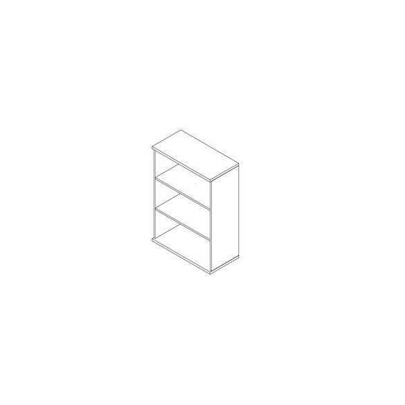 112-NY nyitott-polcos szekrény - 3 fakk