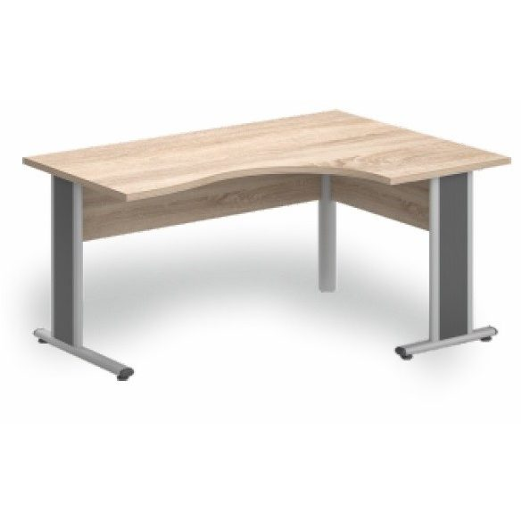 GB-200/120 fémlábas íróasztal jobbos kivitelben