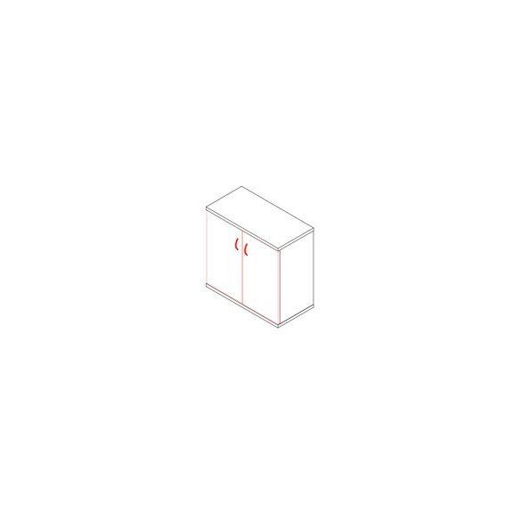 71-2A ajtós-polcos irodaszekrény - 2 fakk