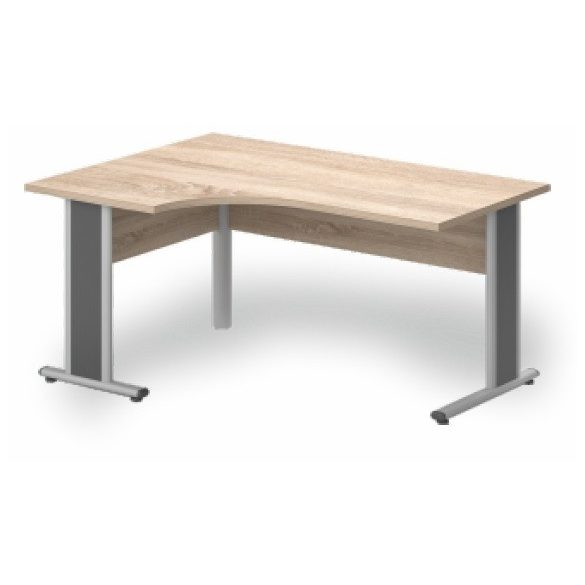 GA-180/120 fémlábas íróasztal balos kivitelben