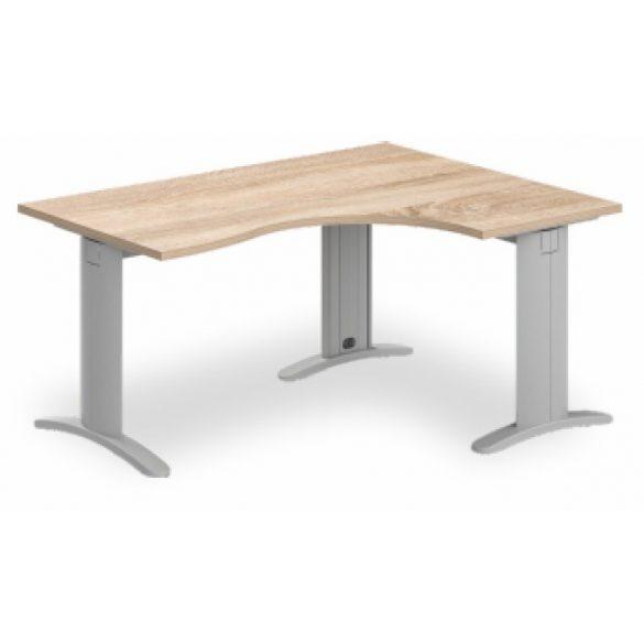 GB-160/120 LUX fémlábas íróasztal jobbos kivitelben