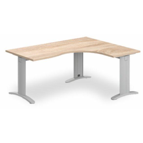 GB-180/140 lux fémlábas íróasztal jobbos kivitelben
