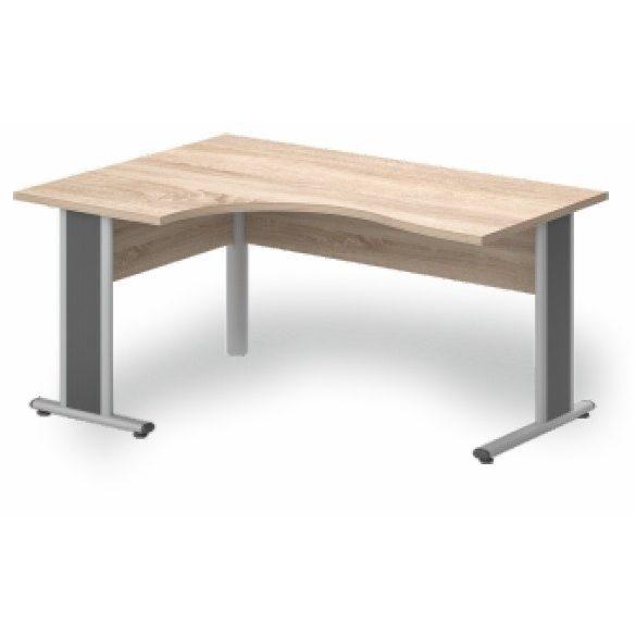 GB-200/120 fémlábas íróasztal balos kivitelben