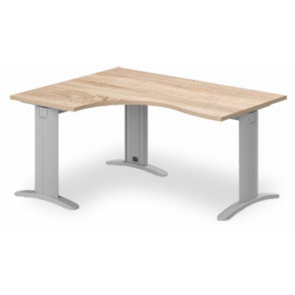 GB-200/120 LUX fémlábas íróasztal balos kivitelben