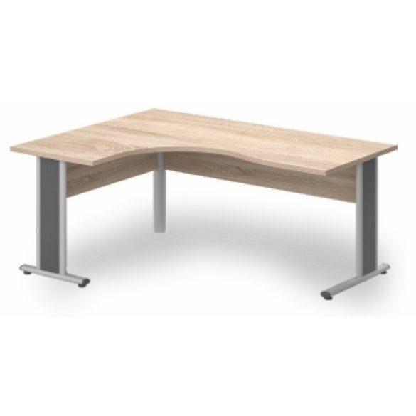 GB-200/140 fémlábas íróasztal balos kivitelben