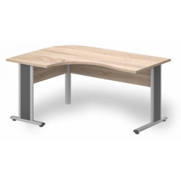 GC-160/120 fémlábas íróasztal balos kivitelben