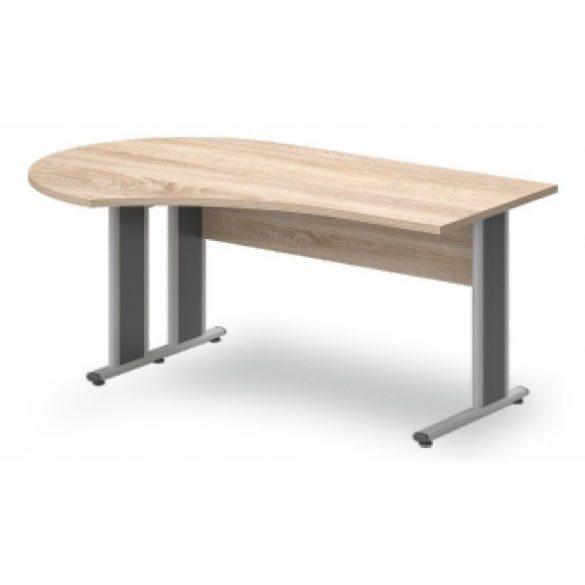 GF-220/120 fémlábas íróasztal balos kivitelben