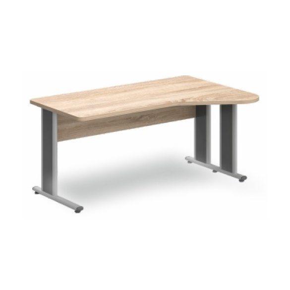 GI-160/110 fémlábas íróasztal jobbos kivitelben