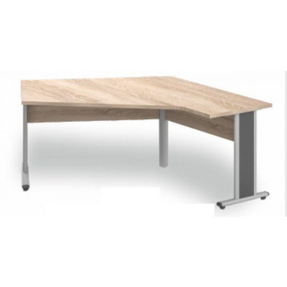 GL-195/144 fémlábas íróasztal jobbos kivitelben