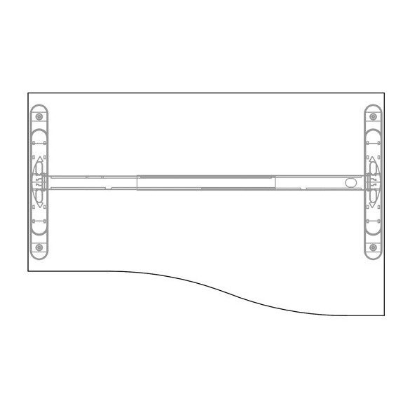 GN-160/100 LUX fémlábas íróasztal jobos kivitelben