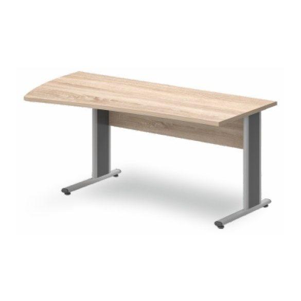 GP-180/99 fémlábas íróasztal balos kivitelben