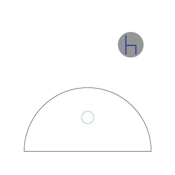 HE 31/180° asztaltoldat