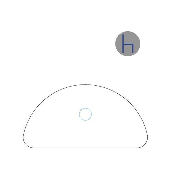KHE 31/180° asztaltoldat