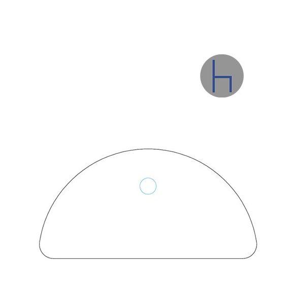KHE 40/180° asztaltoldat