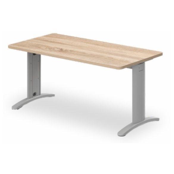 KK-160/80 LUX fémlábas íróasztal