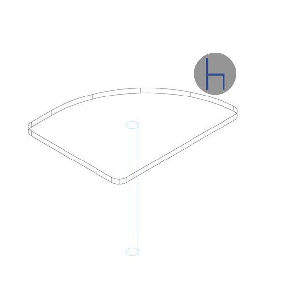 KSE 62-80 asztaltoldat