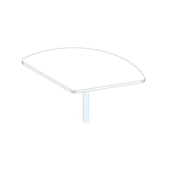 KSE 80-120 asztaltoldat
