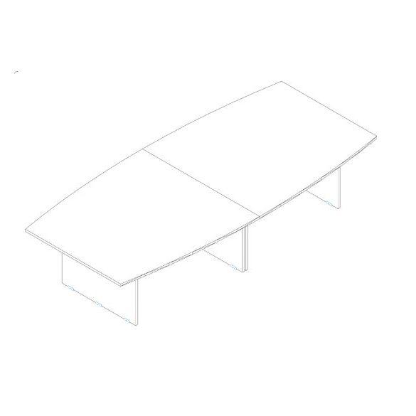 TA 350/160-S tárgyalóasztal
