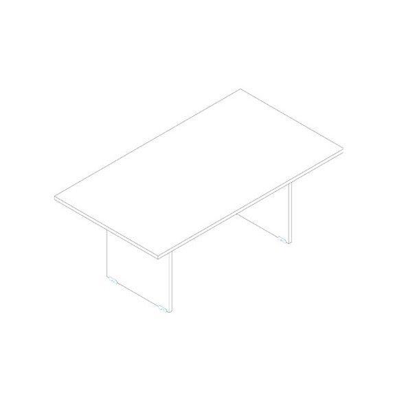 TA-180/100-S tárgyalóasztal