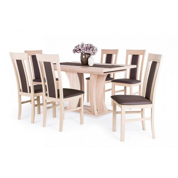 D - Bella asztal 170/210x90 cm