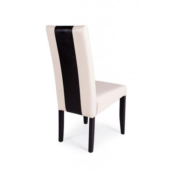 D - Berta Mix falábú szék műbőr kárpittal