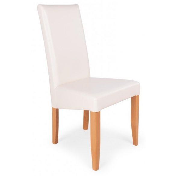 D - Berta falábú szék műbőr vagy zsákszövet kárpittal