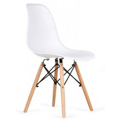 D - Korvin modern falábú szék műanyag ülőfelülettel