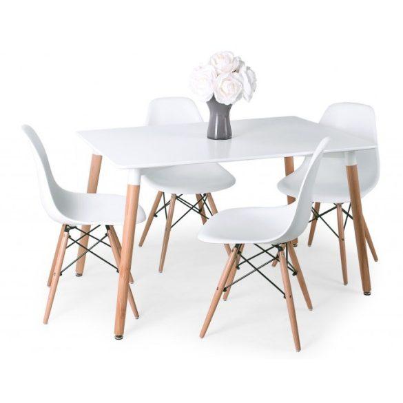 corvin műanyag étkezőszék asztallal