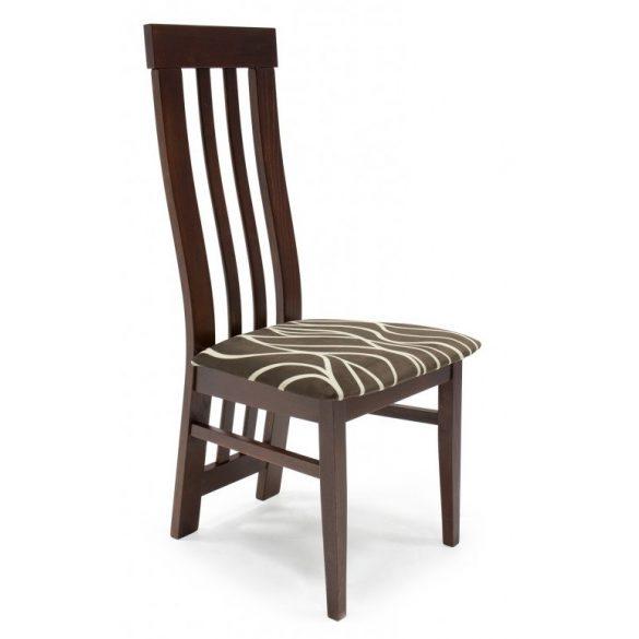 D - Lara favázas szék mintás szövet kárpittal
