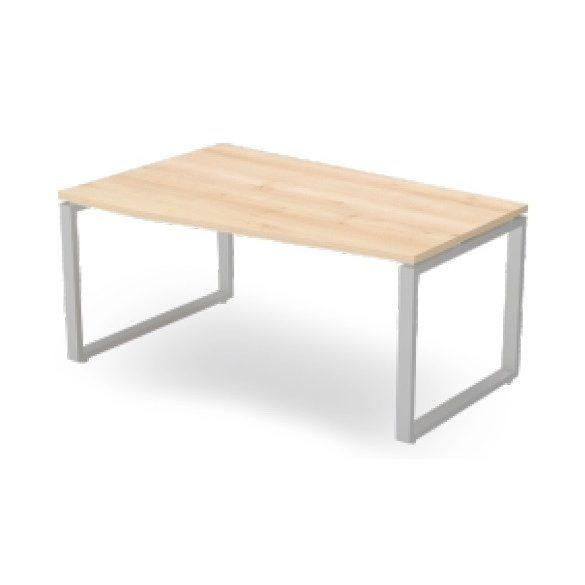 EX FA 158/100 fémlábas íróasztal balos kivitelben