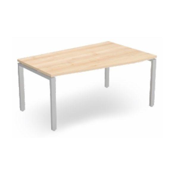 EX FA 158/100 fémlábas íróasztal jobbos kivitelben