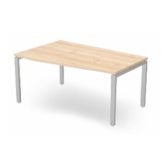 EX FA 178/100 fémlábas íróasztal balos kivitelben